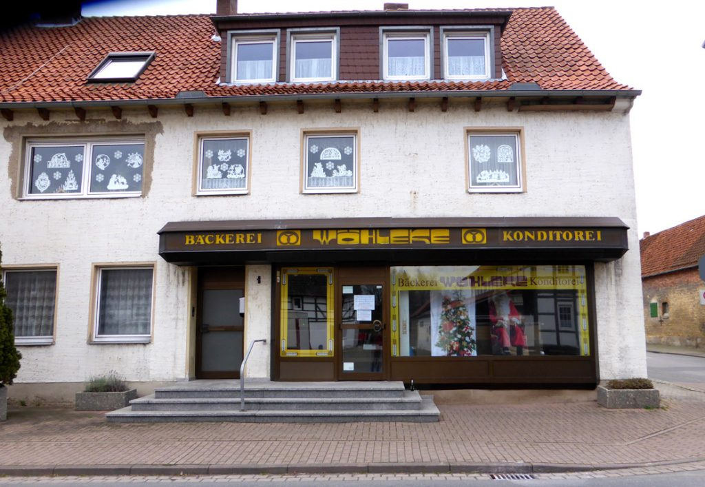 Bäckerei Wöhleke, bis Ende 2017