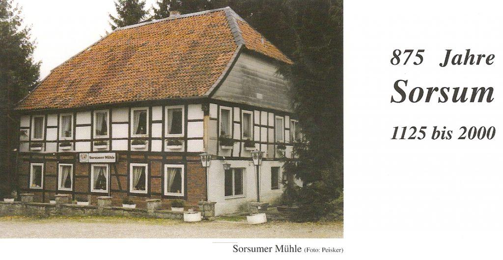 """die """"Sorsumer Mühle"""""""