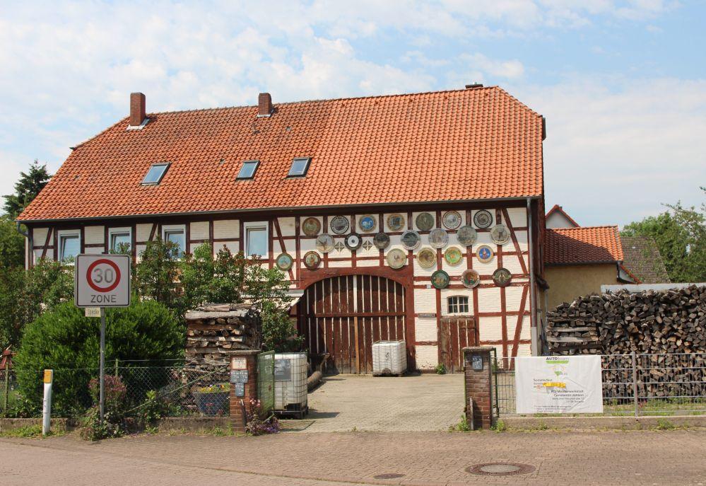 altes Fachwerk Wohnhaus