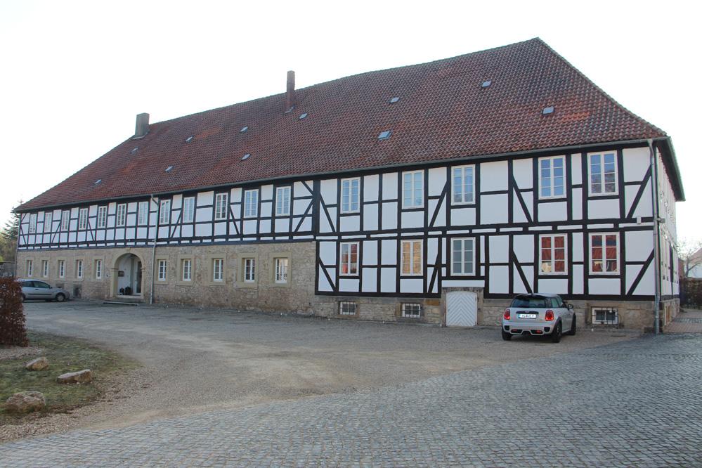 das ehemalige Herrenhaus
