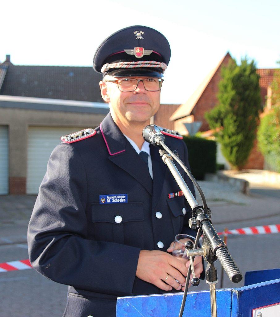 OBM Matthias Scheelen Foto: Gerd Peisker